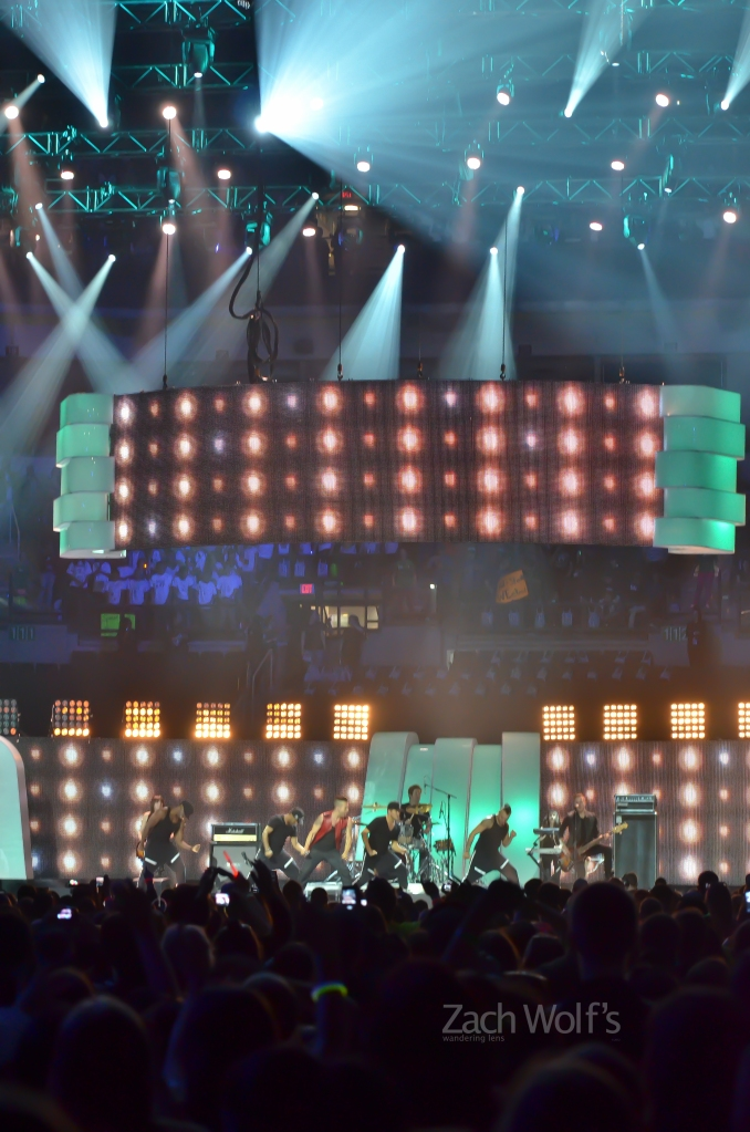 Singer Shawn Desman performs at We Day on October 30, 2012.